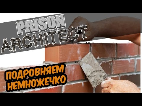 Prison Architect | Строим вместе! Здесь шрих, тут штрих...ой, умер #14