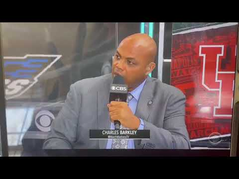 Charles Barkley drops MAJOR truth bomb during live March Madness coverage!