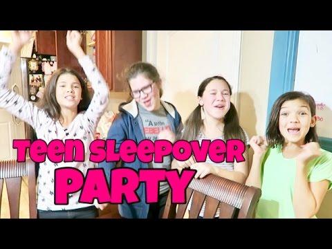 EPIC TEEN AND TWEEN SLEEPOVER PARTY