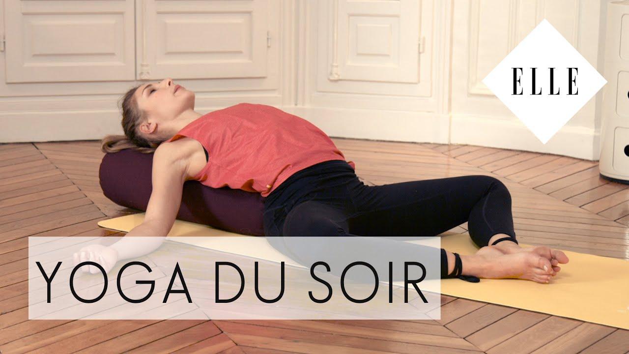 cours de yoga du soir i elle yoga youtube. Black Bedroom Furniture Sets. Home Design Ideas