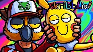 Skribbl.io Funny Moments - Stop Drawing Pokemon!