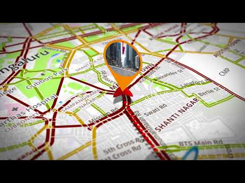 Map Route Generator | After Effects project | Videohive template