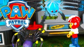 "Paw Patrol Episode 16 ""The Spider King"" full episode Toy video from Toys Toys Toys"