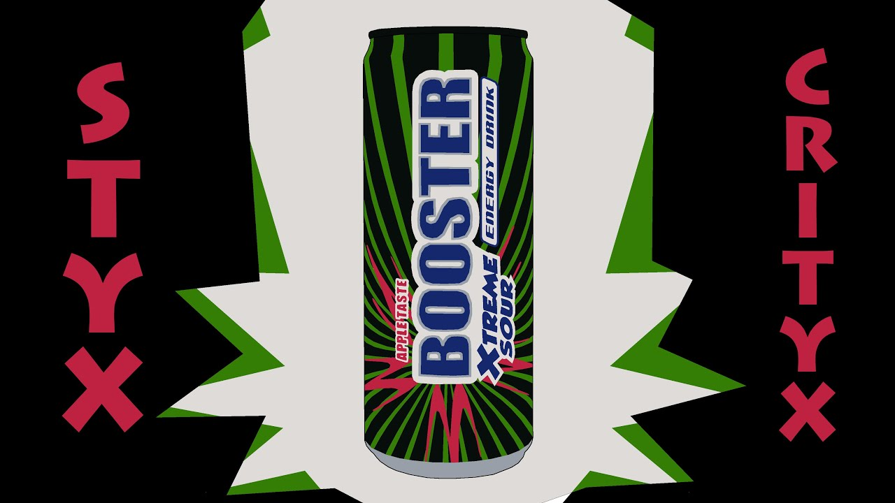 Booster XTREME SOUR - Energy Drink Test (SC#127) - YouTube