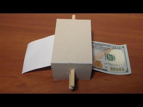Как сделать деньги из бумаги в домашних условиях без принтера