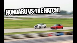 The Hatch and Hondaru DOMINATE Roll Racing!