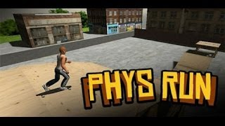 Phys Run gameplay