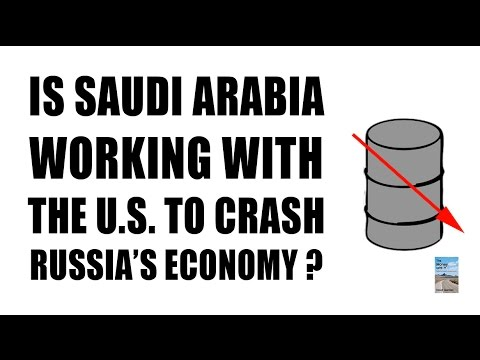 Did Saudi Arabia and U.S. Crash Oil to COLLAPSE Russia's Economy?