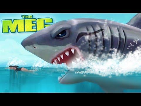NEW MEGALODON - THE MEG!!! - Hungry Shark Evolution - Ep 39 HD