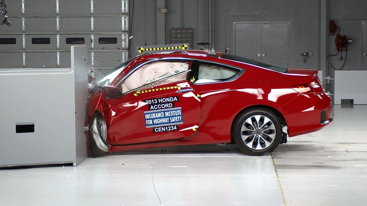 2017 Honda Accord 2 Door Driver Side Small Overlap Iihs Crash Test