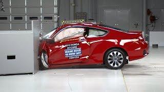 2013 Honda Accord 2-door small overlap IIHS crash test