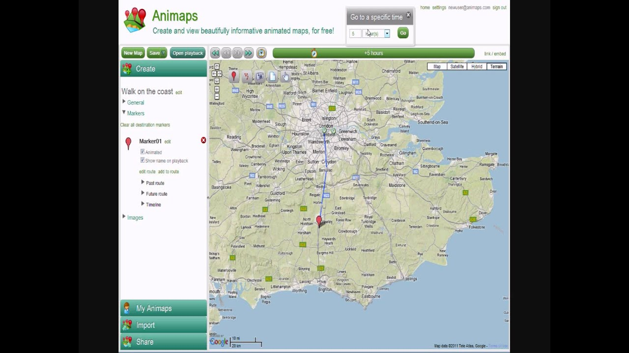 Animated maps with Animaps | The 8 Blog
