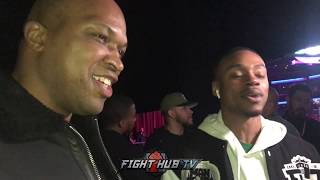 ERROL SPENCE & DERRICK JAMES DEBATE