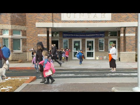 Salt Lake City School District students return to classroom