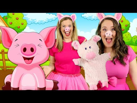 This Little Piggy Went to Market | Popular Nursery Rhymes | Kids Songs for Babies, Toddlers
