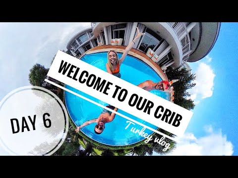 WELCOME TO OUR CRIB | Turkey vlog 6- LAST VLOG