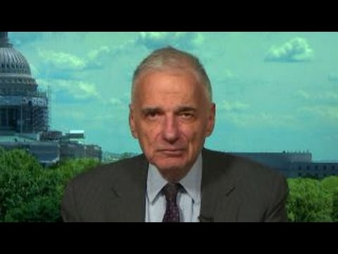 Ralph Nader on Gary Johnson's 'Aleppo' stumble, Clinton Foundation