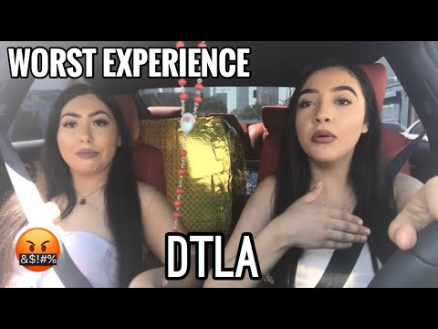 SHOPPING IN DTLA *BAD EXPERIENCE*