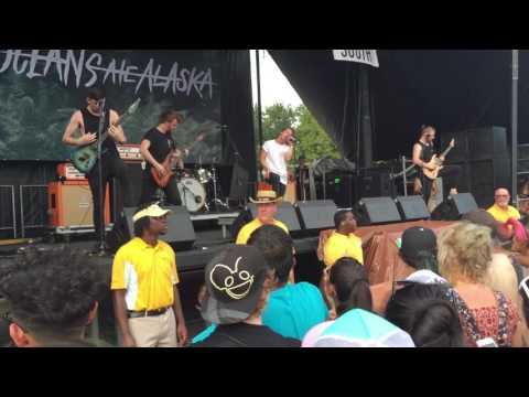 "Oceans Ate Alaska ""Blood Brothers"" Live at Warped Tour 2016"