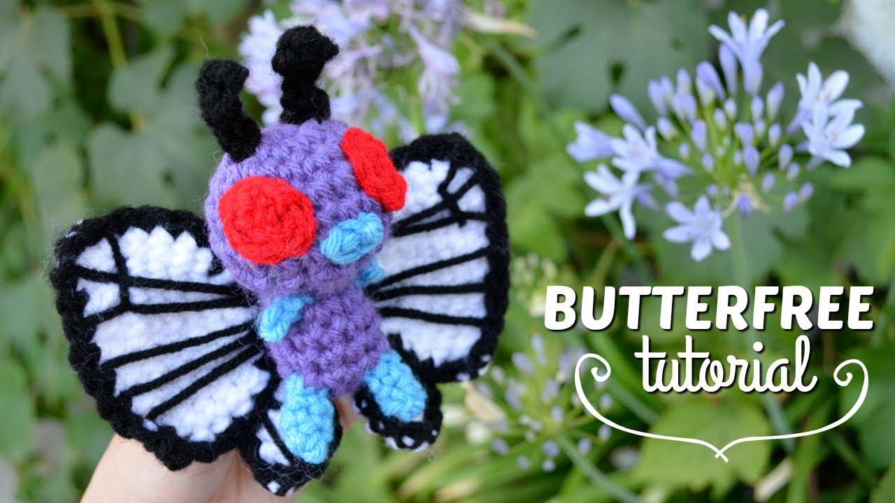 Butterfree Amigurumi - Crochet Pokemon Tutorial