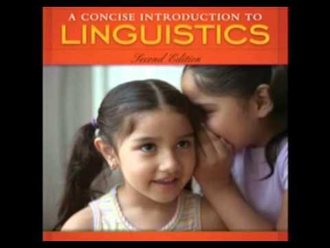 Fundamentals in linguistic anthropology: socio-linguistics (General introduction to anthropology)