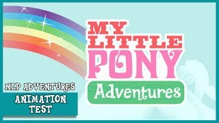 'My Little Pony Adventures' Animation Test (2009) | MLP: FiM [HD]