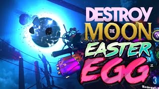 Black Ops 3 Zombies: Destroy The Moon Easter Egg!  The Giant