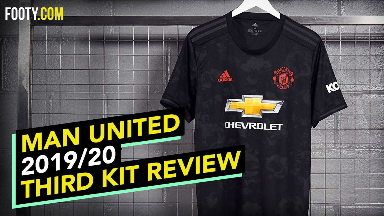 Manchester United 2019 20 Adidas Third Shirt Kit Review Youtube