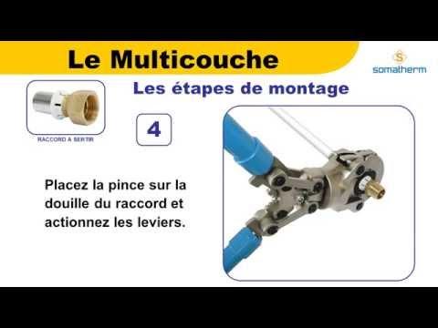 Raccorder Du Multicouche Avec Des Raccords à Sertir Youtube