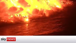 Enjoy live: La Palma volcano eruption    NewsBurrow thumbnail