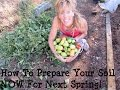 Back To Eden Garden: HOW TO PREPARE YOUR SOIL