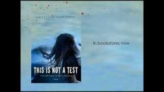 THIS IS NOT A TEST Book Trailer 2