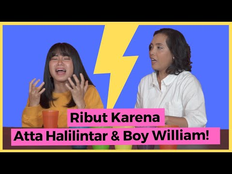 MEMEI JKT48 VS MAMA - BINGUNG PILIH ATTA HALILINTAR ATAU BOY WILLIAM