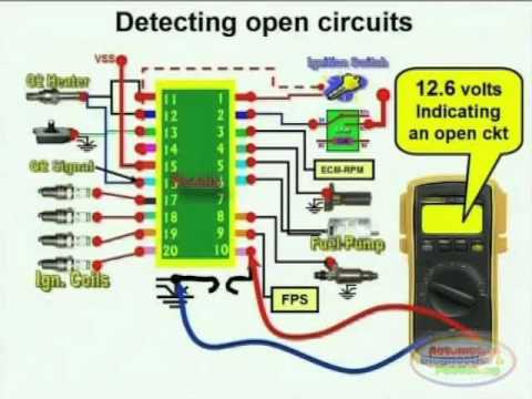 open circuit detection wiring diagram 1 youtube. Black Bedroom Furniture Sets. Home Design Ideas