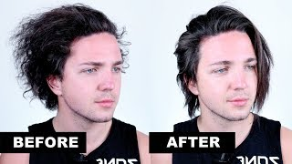 How To Straighten Hąir Using The Chase Method - Men's Hairstyles