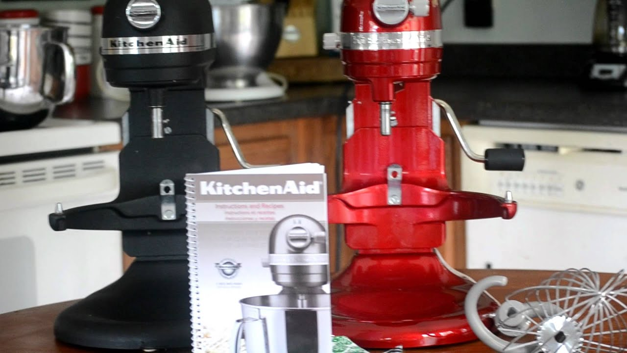 Kitchen Aid 7 Quart Mixer