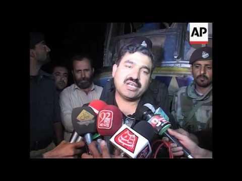 Several dead in bus bombing in Pakistan