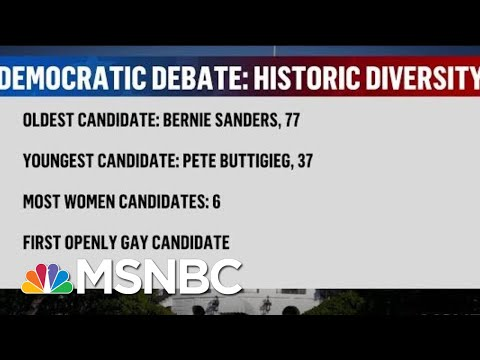 20 Dem Candidates Head To Florida For First Debate | The Beat With Ari Melber | MSNBC