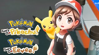 Pokémon: Let's Go, Pikachu! And Let's Go, Eevee! - Meet The Characters And Mega Evolutions Trailer