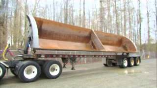 For Sale Smith Co Triple Axle Side Dump Trailer 31 Cu. Yard Material bidadoo.com