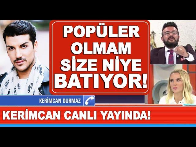 Kerimcan Durmaz canl? yay?na ba?land?, Erhan Nacar ile yüzle?ti!