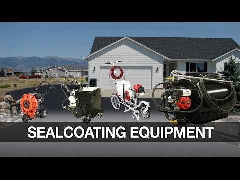 Find All The Sealcoating Equipment You Need | Asphalt Kingdom