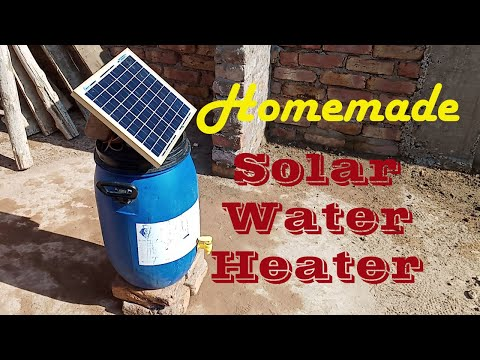 Solar Water Heater Homemade _ How to Make Solar Water Heater At Home