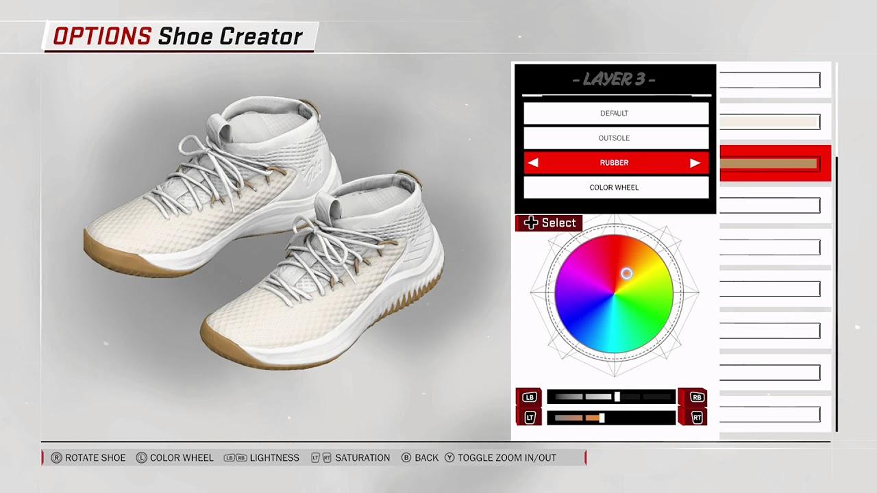 2c0ebeba3b5 NBA 2K18 Shoe Creator - Adidas Dame 4