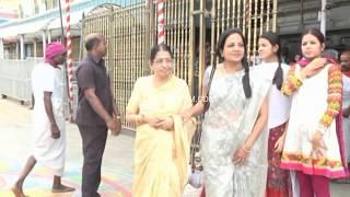 Telugu Tamil Cinema Singer P Susheela with her grand daughters exclusive video