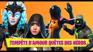 🔴 LIVE FORTNITE LOVE LOVE QUESTS OF THE FORTNitE SAUVER THE WORLD FR PS4/PC/SWITCH 720P HD