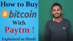 How to Buy Bitcoins With Paytm (Easy Instant Method)Explained In Hindi