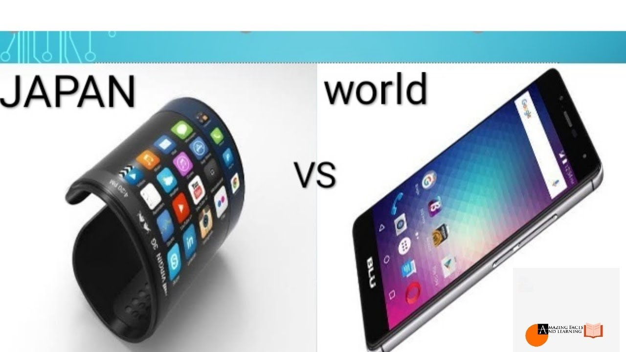 World vs Japan technology
