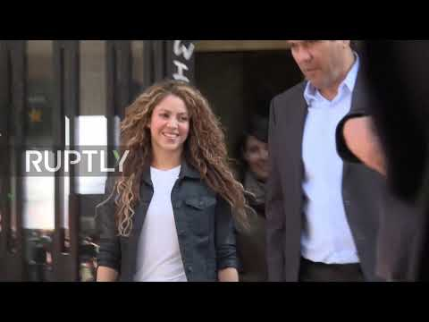 Spain: Popstar Shakira appears in Madrid court on plagiarism charge Mp3