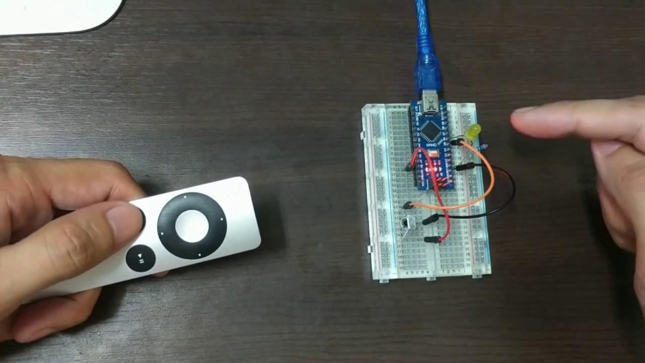 【Arduino教學】實作14- 紅外線遙控LED(使用arduino nano) - YouTube